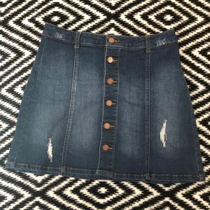 C'est Toi Denim Skirt